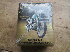 HARLEY DAVIDSON FACTORY SET OF 100 PREMIUM COLLECTOR CARDS SERIES 2 1903-1992