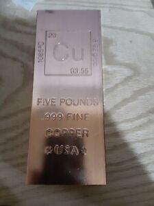 5lb Copper Bar