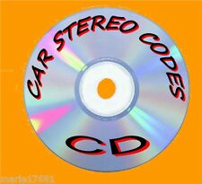 RECOVER LOST CAR AUDIO/RADIO/STEREO CODE SOFTWARE UNLOCK PROGRAM SOLUTIONS PC-CD