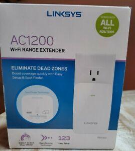 Linksys AC1200 Dual-Band Wi-Fi Range Extender / Wi-Fi Booster