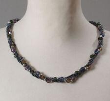 Rhodium beschichtete Modeschmuck-Halsketten & -Anhänger ohne Stein