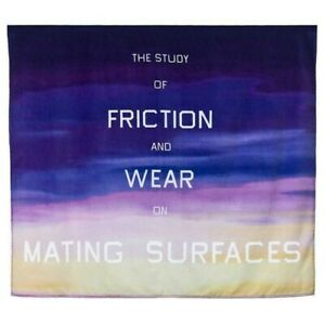 ED RUSCHA ART PRODUCTION FUND STUDY OF FRICTION BEACH TOWEL NEW IN BAG SOLD OUT
