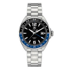 Tag Heuer Formula 1 41mm Date GMT Automatic Mens Watch WAZ211A.BA0875