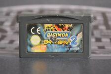DIGIMON BATTLE SPIRIT 2 NINTENDO GBA GAMEBOY GAME BOY ADVANCE COMBINED SHIPPING