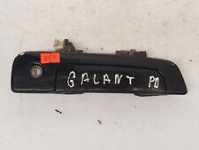 MITSUBISHI GALANT 1996 LHD FRONT RIGHT SIDE EXTERIOR DOOR HANDLE BLACK MR271868