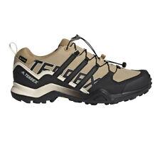 adidas Mens Terrex Swift R2 GORE-TEX Walking Shoes Brown Sports Outdoors