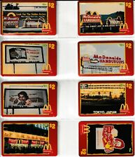 Complete Set of 50 1996 McDonald's Classic Sprint $2 Phone Cards Mint + 9 Extra