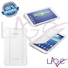 """Custodia Samsung per Galaxy Tab 3 7"""" T210 T211 T212 Book Cover Bianco Originale"""