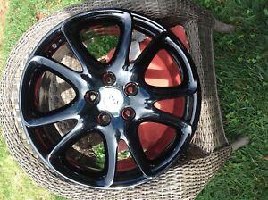 "Porsche Cayenne Powder coat 20"" OEM Wheel 2005-2010 955362140809A1 Set of4 Black"