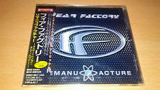 Fear Factory - Remanufacture (Cloning Technology) Japan wOBI Machine Head SEALED