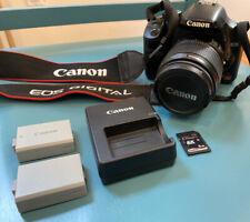 Canon EOS Digital Rebel XSi / EOS 450D 12.2MP Digital SLR Camera Kit - 2 Battery