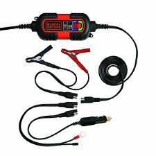Battery Charger 6V an 12V Speed Charge Maintainer Car Truck Marine Boat ATV Bike