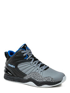 ***NEW MENS AND1 CAPITAL 4.0 GRAY BLUE BLACK ATHLETIC BASKETBALL SHOES SNEAKERS