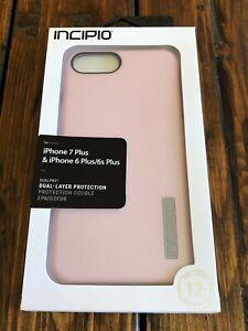 Incipio iPhone 7 PLUS, 6S PLUS, 8 PLUS Dual layer Case IPH-1491-RQT