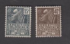 France - Timbres neufs ** - Expo coloniale de Paris - N° 270 et 271 - 1931 - TB