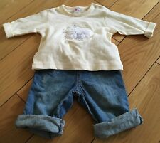 Baby Boys Next Top And Trousers Size 3-6 Months