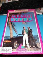 "miami vice Pc game, Vintage, 5.25"" disks, see pics, rare, free ship"