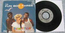 "Fun Boy Three  - Summertime/Summer Of '82 -  1982 EU Picture Sleeve PS 7"" single"
