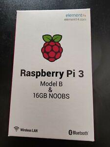 *NEW LOW PRICE!! Raspberry Pi 3 Model B & FREE 16GB MicroSD Card! FREE DELIVERY!