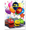 727; Personalised Birthday card; Chuggington; for any name age relationship from