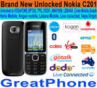 Brand New Nokia C201 Black Phone Unlocked to Voda*Optus*TPG*AMAYSIM etc..