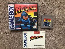 Gameboy Mega Man With Instructions And Collectors Case