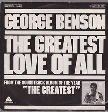 "7"" George Benson The Greatest Love Of All / Michael Masser Ali`s Time 70`s EMI"