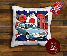 Rover 75 Cushion Cover, Rover 75, Union Jack, Mod Target, Poppy,