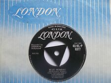 """EX UK LONDON 45 - FATS DOMINO - """"BLUE MONDAY"""" / """"WHAT'S THE REASON I'M NOT...."""""""