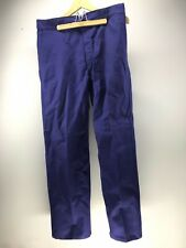 Pantalon de bleu de travail état neuf , indigo , usine , loft