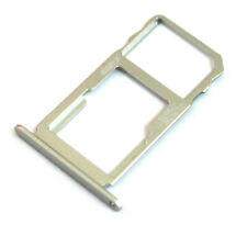 OEM BLACKBERRY KEY2 LE BBE100-5 REPLACEMENT SILVER MICRO SD DUAL SIM CARD TRAY