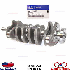 ✅ Genuine ENGINE CRANKSHAFT fits 06-14 HYUNDAI KIA 2.4L G4KC G4JS OEM 2311125221