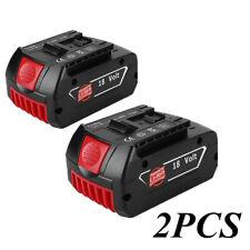 2pcs 18V 6000mAH li-ion battery for Bosch Drill BAT618 BAT609 BAT618G BAT609G
