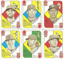 2015 Topps Heritage 1951 Collection Series Complete Set Kris Bryant Thor Rookie