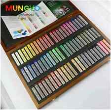 72 Colors Mungyo Gallery Artists' Soft Pastel Standar Square SZ Wood Box MPV-72W