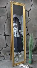 Standspiegel Ankleidespiegel Wandspiegel barock antik Silber 160 x 40 cm NO