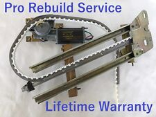 Lebaron Convertible Window Motor Regulator Driver Rear  1982-86 Rebuild Service