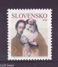 Slowakei Nr.  506  gest.  Die Familie  Rodina