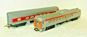 Triang OO Scale Transcontinental Budd RDC-2 and Coach