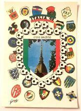 Cartolina Italia 90 - C'Ero Anch'Io Stemma Mole Antonelliana