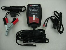 TOOL BATTERY CHARGER SYSTEM TENDER MAINTAINER 1 AMP 12V  MOTORCYCLE HARLEY YUASA