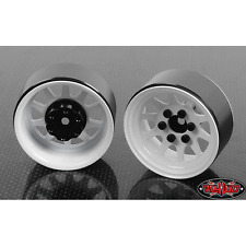 RC4WD OEM Stamped Steel 1.9 Beadlock Wheels (White) Z-W0208