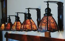 Handel Pine tree sconce 1 of 8 available lamp, mission arts and crafts