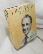 J.R.D. Tata Letters Rupa 2004 Edited by Arvind Mambro Hardcover