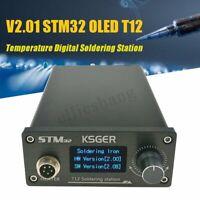 110V-240V Soldering Iron Solder Station Digital Home STM32 OLED T12 Desoldering