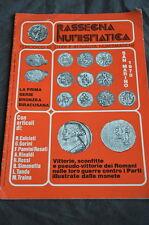 Libretto - rassegna numismatica studi moneta Abbonamento Gennaio 1979
