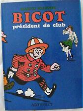 Bicot président de club editions Artefact 1986