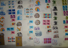 125 Un Fdc Lot- Un First Day Covers (All Unaddressed) Various Cachets