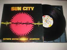 Artists against Apartheit - Sun City    Vinyl  LP