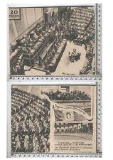 Roma - Camera dei Deputati - Storica Seduta del 20 maggio 1915 - rara - 20884